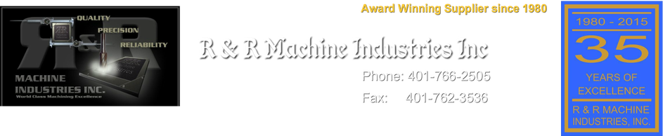 R&R Machine Industries Inc